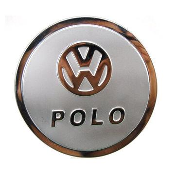 酷玛传奇大众新宝来 新polo 波罗 新速腾 新朗逸不锈钢油箱盖贴 油箱