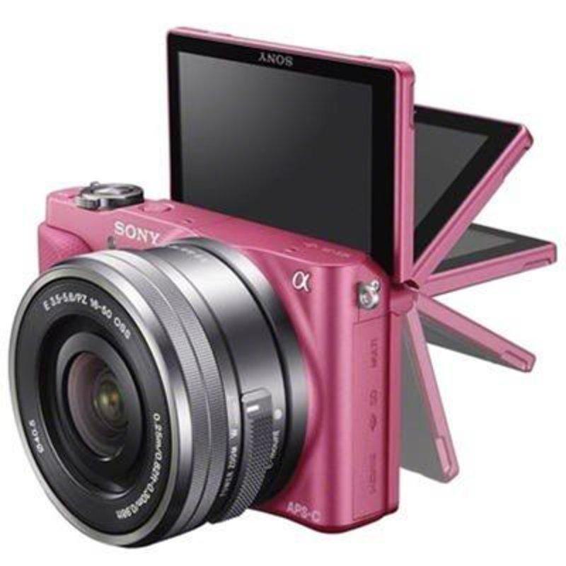 索尼微单相机nex-3nl(粉色)