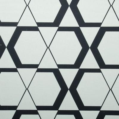 爱舍东方 现代简约无纺布 几何图形图案壁纸 客厅电视图片