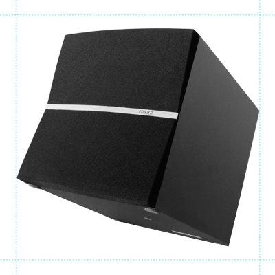 漫步者(edifier)c2x电脑音箱独立功放低音炮音响黑色