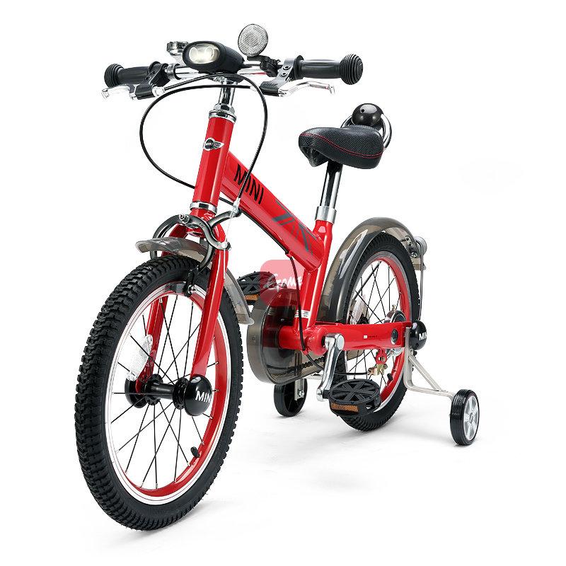 星辉婴童rastar儿童自行车宝马迷你mini小孩单车童车男女款16寸(红色)