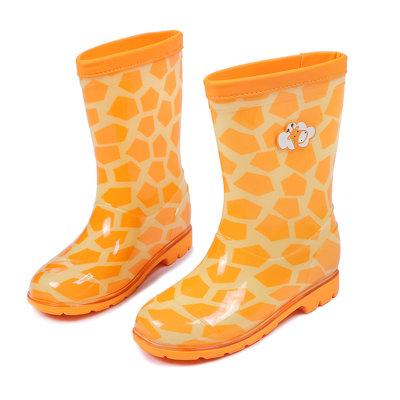 长颈鹿的小靴子简笔画