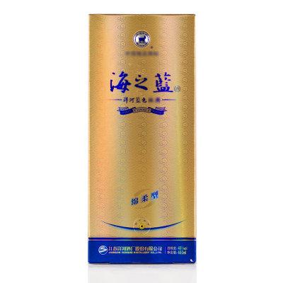 中酒网 洋河蓝色经典 46度海之蓝绵柔型 480ml