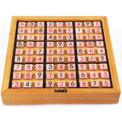 木制九宫格数独棋 儿童益智玩具成人智力桌面棋牌游戏