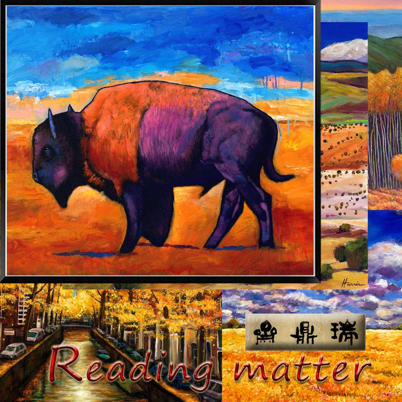 reading matter瑞鼎斋 重彩田园风景系列装饰画
