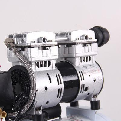 上海捷豹空压机2524无油机静音木工气泵单相750w喷漆打气钉枪