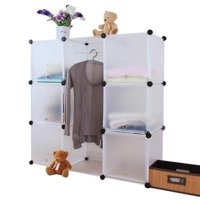 蔻丝 时尚简易衣柜 宝宝衣柜 婴儿衣柜 收纳柜 免工具