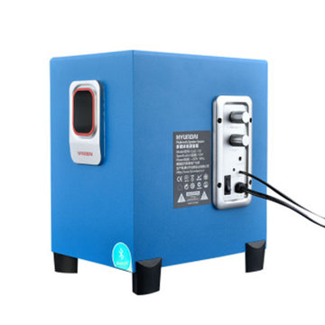 现代(hyundai)台式电脑音箱音响低音炮 有源音响2.