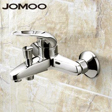 九牧(jomoo)浴室浴缸水龙头冷热三通淋浴龙头花洒全铜混水阀3577-050图片