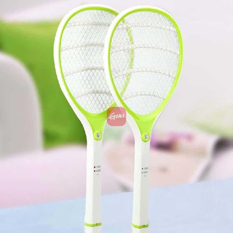 雅格 电蚊拍充电式led灯多功能安全环保灭蚊拍苍蝇拍