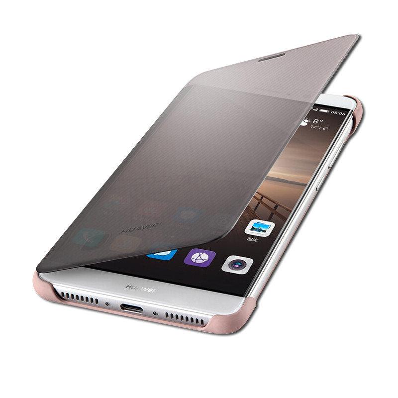 华为手机套大全_华为(huawei)mate9原装皮套 手机套 手机壳 保护壳 智能保护套 外壳