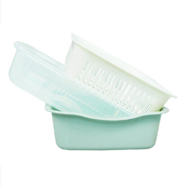 小号无味欧式碗柜简易塑料茶花滴水碗架三件线定制v小号图片