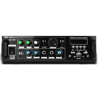 金正(nintaus)sm-980家庭ktv音响套装 卡拉ok音箱 专业舞台会议功放机