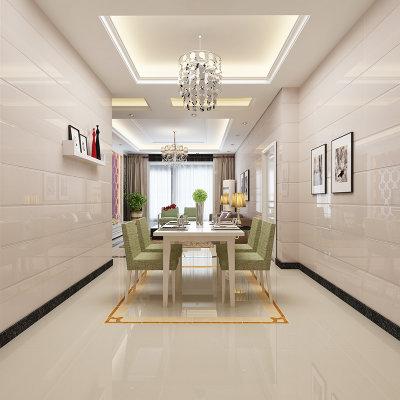 楼兰瓷砖 客厅地砖 玻化砖 客厅地板砖 防滑瓷砖 抛光