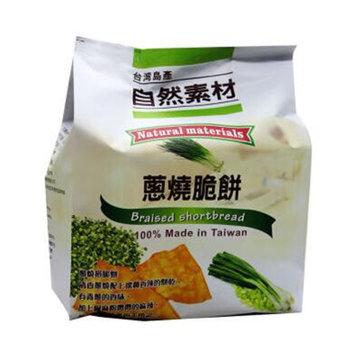 自然素材 葱烧脆饼 152g/袋 (台湾地区进口)