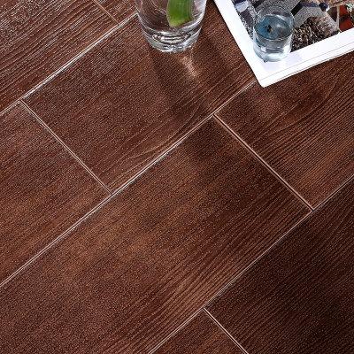 楼兰瓷砖 地砖卧室600 150木纹砖仿实木地板地面砖建材防滑砖田园仿古