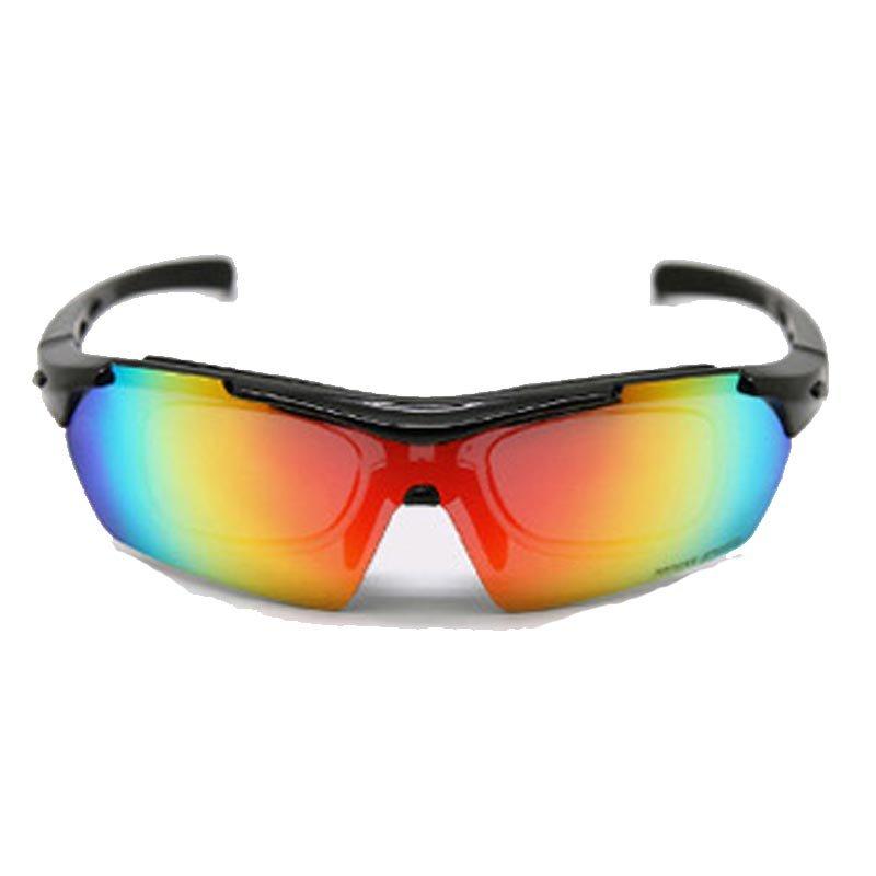 TOPEAK拓步骑行偏光眼镜带近视内框 户外运动太阳镜自行车防风护目镜 TSR838(珍珠光蓝)第4张商品大图