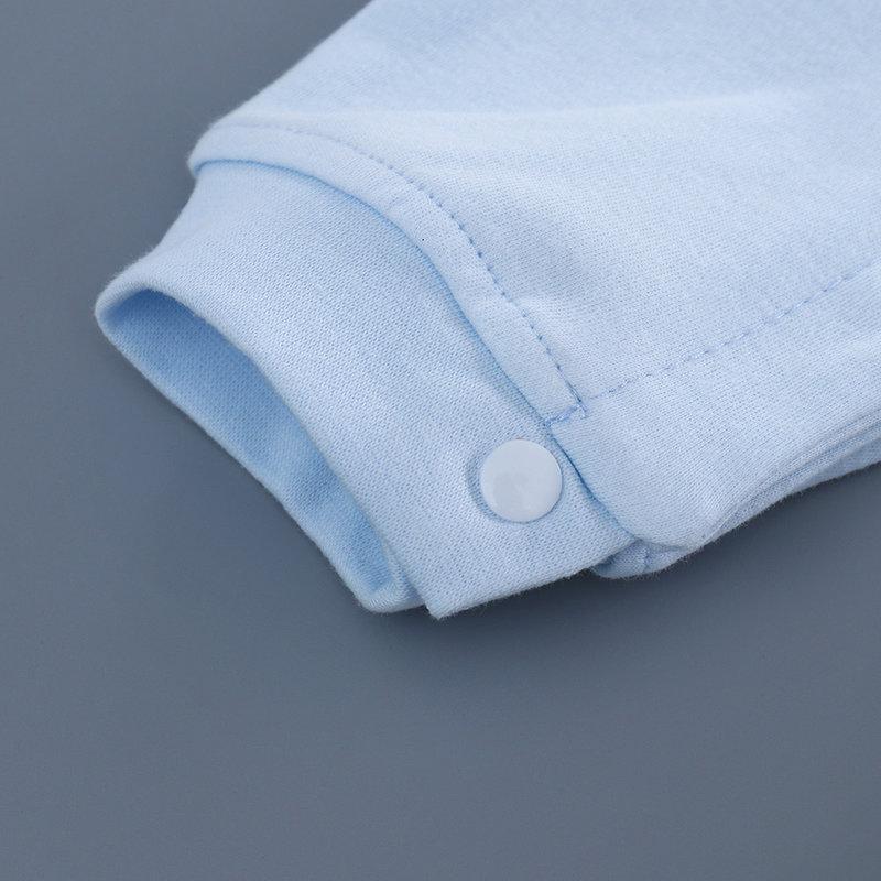 婴儿连体衣服春秋夏季女宝宝哈衣 0纯棉6长袖